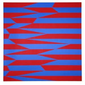 Véra MOLNAR - Gemälde - Parallèles et obliques
