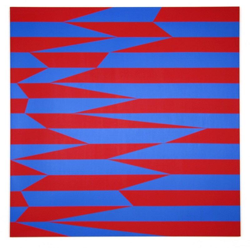 Véra MOLNAR - 绘画 - Parallèles et obliques