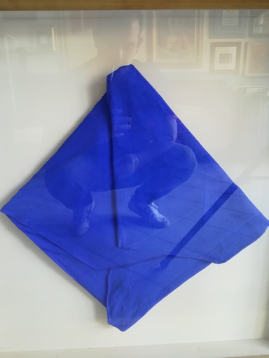 Cesare BERLINGERI - Pintura - Misterioso blu