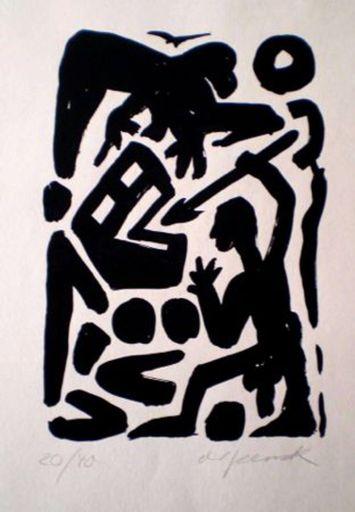 A.R. PENCK - Print-Multiple - Untitled 6