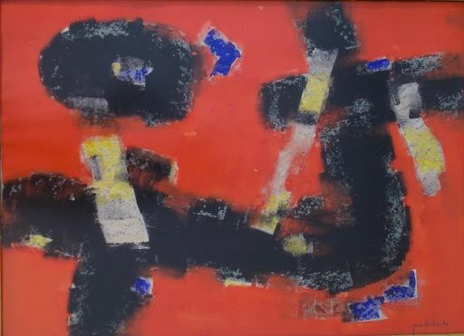 Jun DOBASHI - Drawing-Watercolor - Le Ciel Changeant II