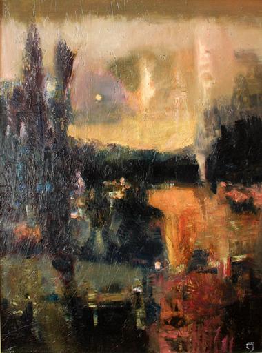 Levan URUSHADZE - Gemälde - Afternoon landscape