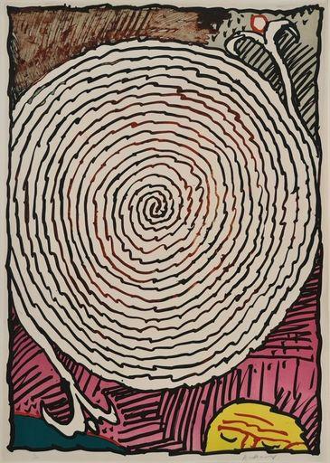 皮埃尔·阿列钦斯基 - 版画 - Labyrinthe d'apparat IV
