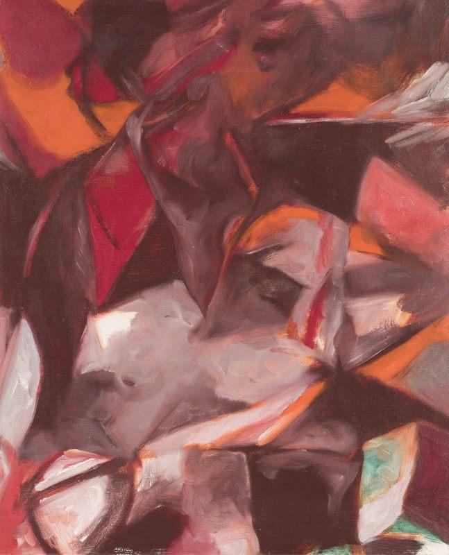 Avigdor ARIKHA - Painting - Composition