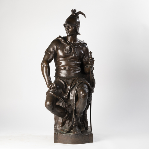 Paul DUBOIS - Escultura - Paul Dubois (1829-1905) et Ferdinand Barbedienne (1810-1892)