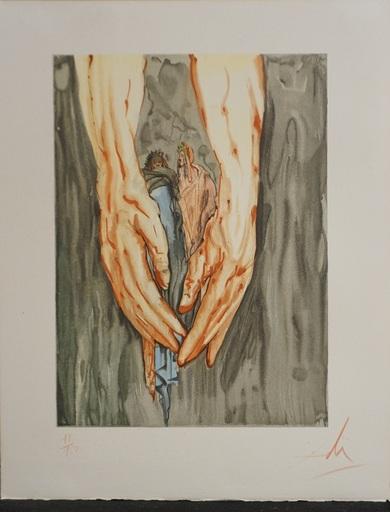 Salvador DALI - Druckgrafik-Multiple - Divine Comedy Hell Canto 31