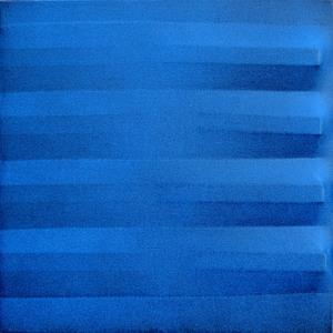 Agostino BONALUMI - Pintura - Blu