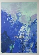 ZAO Wou-Ki (1921-2013) - JEUX OLYMPIQUES (1992) A 358 size 90 X 60 CM