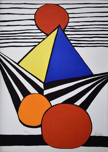 Alexander CALDER - Print-Multiple -  Composition XI, from The Elementary Memory | La mémoire élé