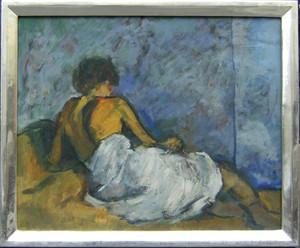 JEVSOVAR - Peinture - Liegende