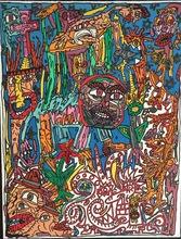 Robert COMBAS - Print-Multiple - l'homme animal
