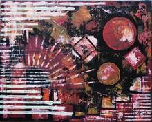 Filippo CHIAPPARA - Peinture - Oltre la zona rossa