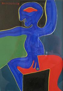 Fritz BAUMGARTNER - Gemälde - Figure
