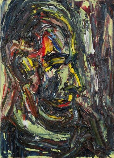 Alex KREMER - Pintura - Portrait of Yair