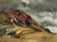 Willy EISENSCHITZ - Painting - Bauern in der Provence