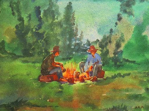 Krishnaji Howlaji ARA - Pintura - Untitled