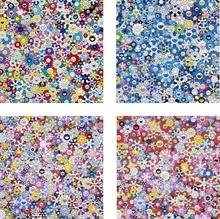 Takashi MURAKAMI (1962) - Bouquet of Love/ Shangri-La Blue/ Shangri-La Pink/ Shangri-L