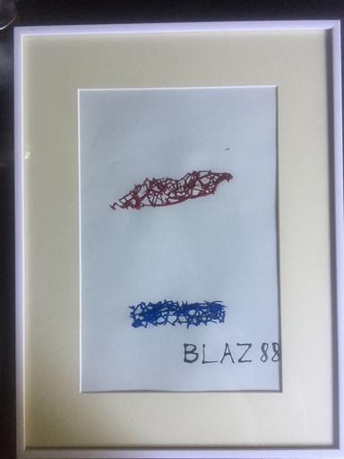 BLAZ 88 - Pintura - CORONA : A L'HEURE DE L'OBSERVATOIRE II