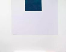 罗伯特•马塞維尔 - 版画 - Untitled (Blue/Pale Blue) from London Series II