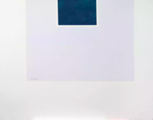 Robert MOTHERWELL - Estampe-Multiple - Untitled (Blue/Pale Blue) from London Series II