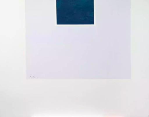 Robert MOTHERWELL - Print-Multiple - Untitled (Blue/Pale Blue) from London Series II