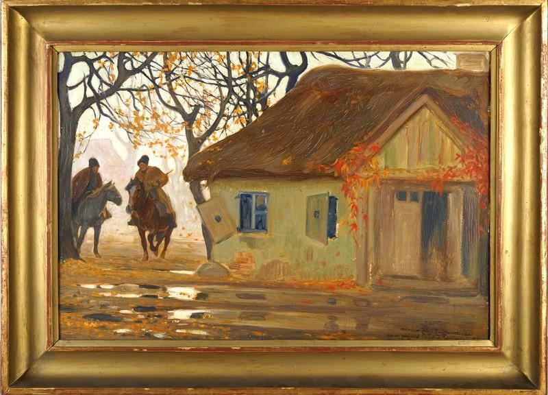 Józef SWIRYSZ-RYSZKIEWICZ - Gemälde - Autumn