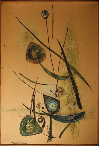 Laurent JIMENEZ-BALAGUER - Pittura - Composition abstraite