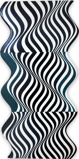 Cristina GHETTI - Gemälde - Beep 2 (Abstract painting)
