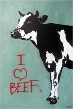 BLEK LE RAT - Pittura - I LOVE BEEF