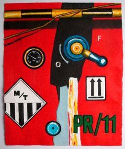 Peter KLASEN - 版画 - PR 11