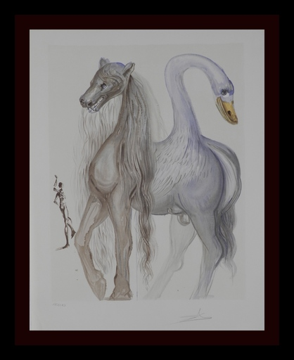 萨尔瓦多·达利 - 版画 - Dalinean Horses Horace's Chimera