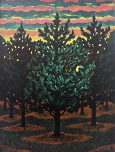 Damir MURATOV - Painting - Toucan