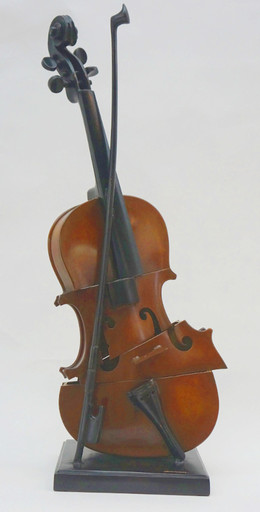 Fernandez ARMAN - Sculpture-Volume - Violon coupè