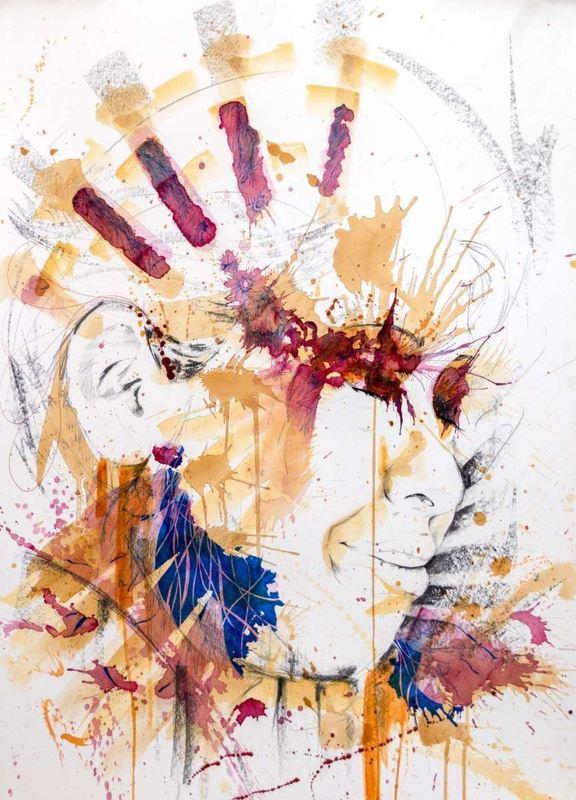 Sergio CORTEZ - Drawing-Watercolor - Maya