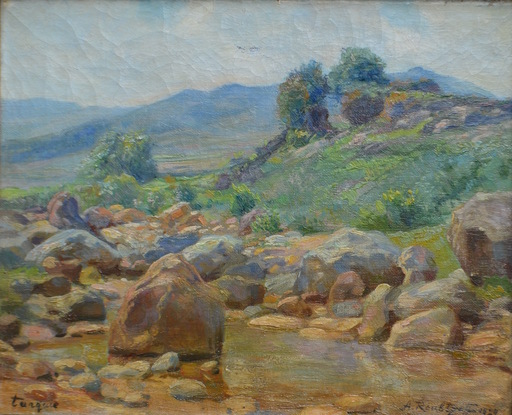 Aleksandr RUBCOV - Gemälde - Turkey