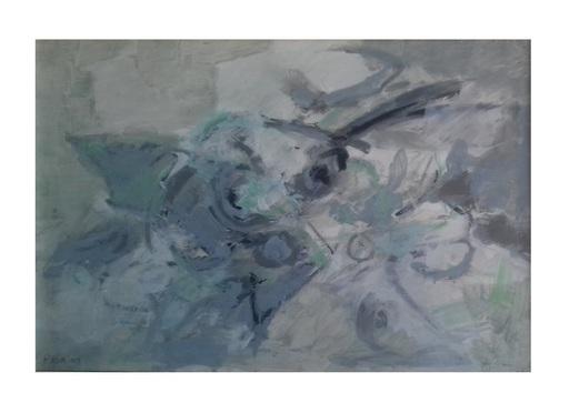 Renato BIROLLI - Pintura - Questo grigio profumo della sera