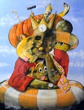 Jean Christophe FISCHER - Painting - sans titre 5.0.2