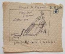 Alexandre FASSIANOS - Dibujo Acuarela - Brèves de Fassianos