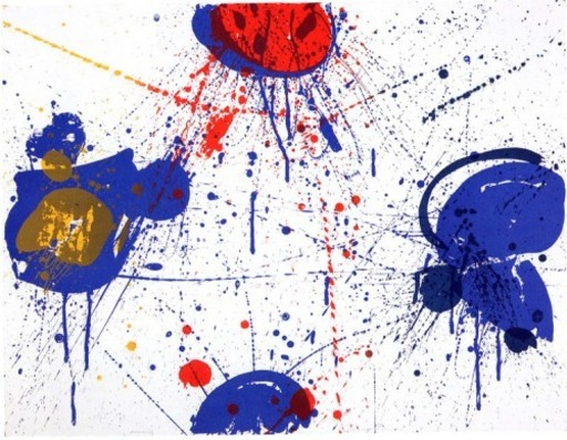 Sam FRANCIS - Print-Multiple - The upper Red