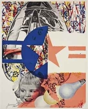 James ROSENQUIST - Print-Multiple - F-111 (Castelli Gallery Poster)
