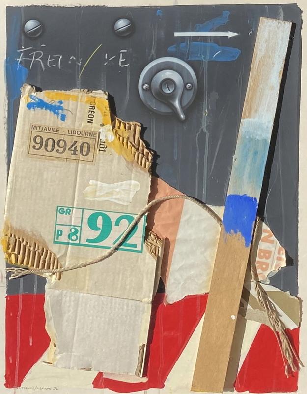 Peter KLASEN - 绘画 - Mitjaville - Libourne