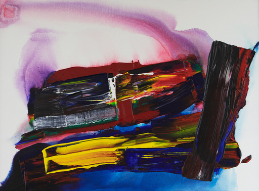 Paul JENKINS - Gemälde - Phenomenon East of the River