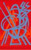 DI SUVERO Mark - Grabado - Magnetic Borealis (lithograph)                      .