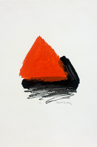 Erwin BECHTOLD - Print-Multiple - Pirámide 1