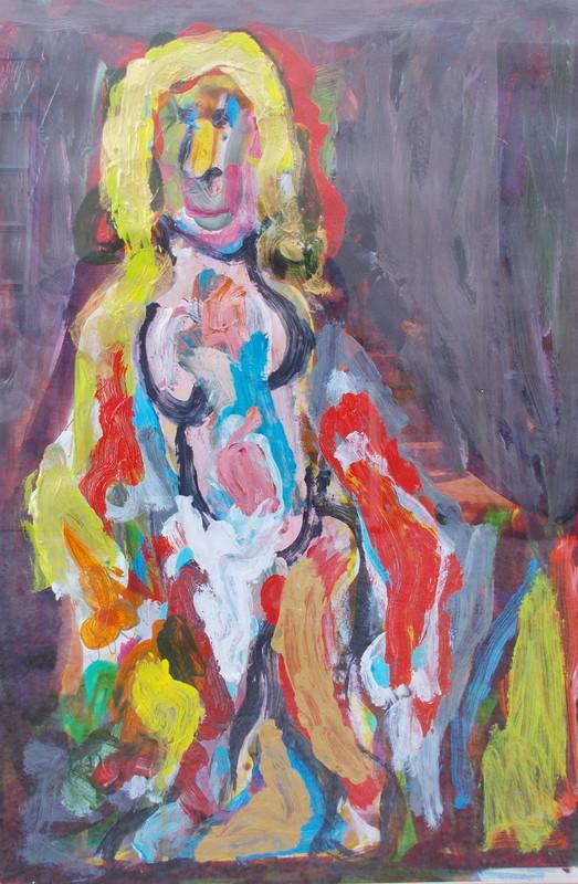 Adrien SEGUIN - Peinture - Portrait