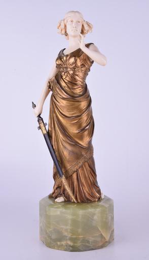 Johann Philipp PREISS - Escultura - Judith