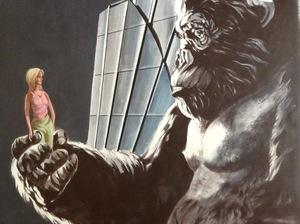 Patrick BRETAGNE - Painting - King Kong