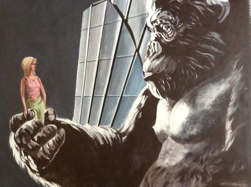 Patrick BRETAGNE - Pittura - King Kong