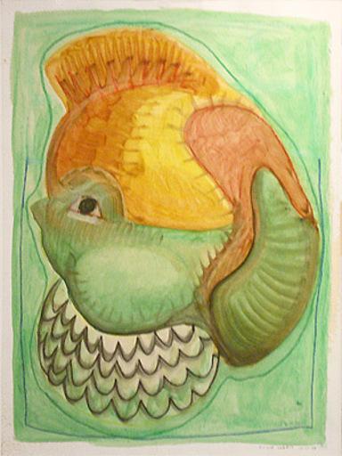 Vincent CORPET - Drawing-Watercolor - Les enfantillages