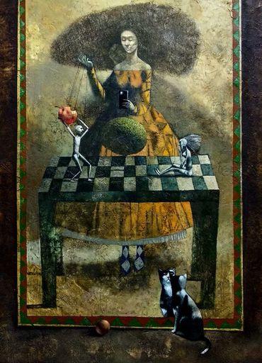 Bobur ISMOILOV - Pittura - Lilith game